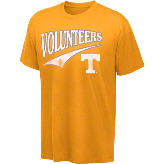 Tennessee Volunteers Tn Orange Tailsweep T-Shirt