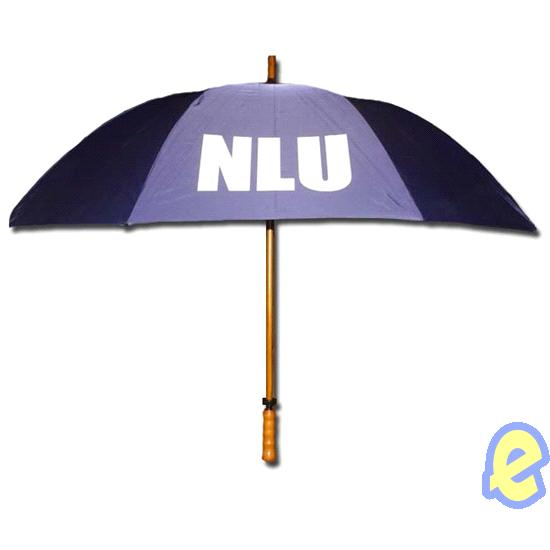 NLU Navy Golf Umbrella