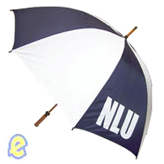 NLU Navy/White Golf Umbrella