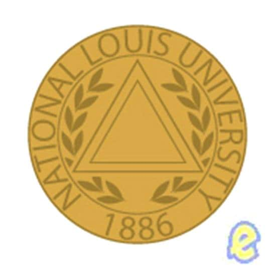 National Louis University Seal Lapel Pin